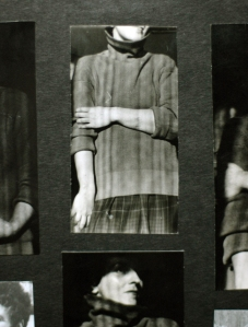 Grandmothers photoalbum used in Fragments of Me (SDU)